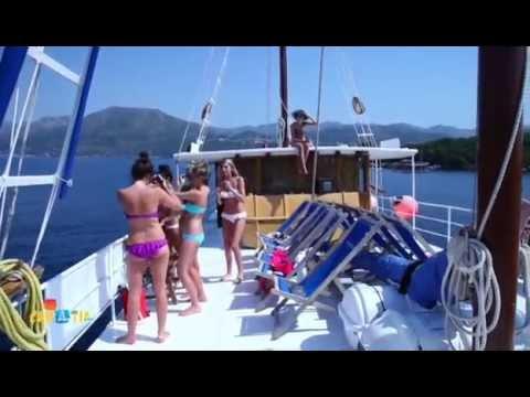 Katarina Line - Croatia small ship cruises - B category ships