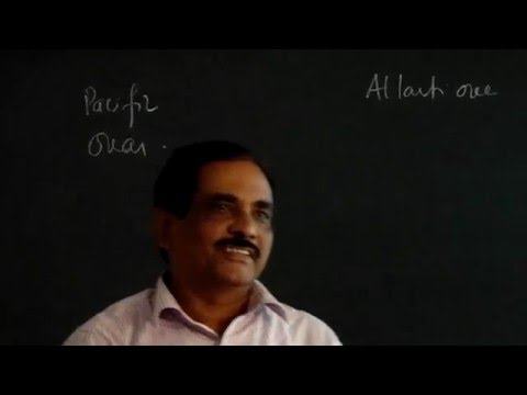 Climate Geology Class_10 Part_1 by Prof. T.K. Biswal, IIT BOMBAY