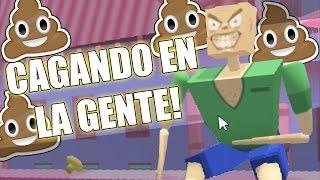 CAGANDO ENCIMA DE LA GENTE - Muddy Heights | Fernanfloo