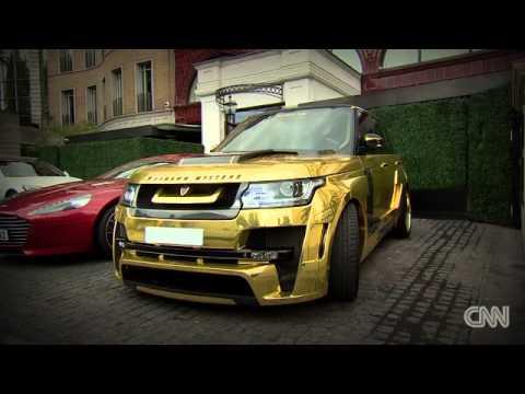 Mega-rich Arabs show off crazy supercars