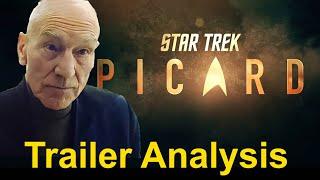 Star Trek Picard TRAILER BREAKDOWN