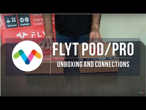 FlytPOD/PRO Unboxing and Connections | Advanced Flight Computer for Drones by FlytBase on YouTube