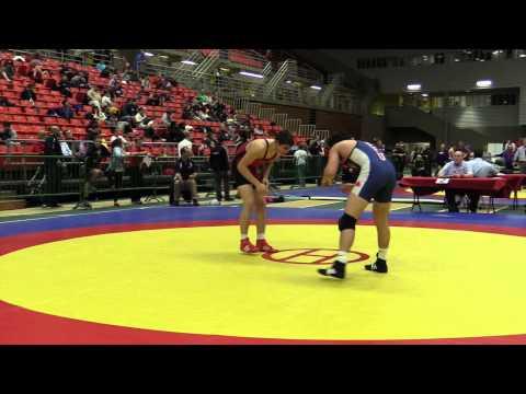 2014 Junior National Championships: 84 kg Geno Poirier vs. Josh Kim