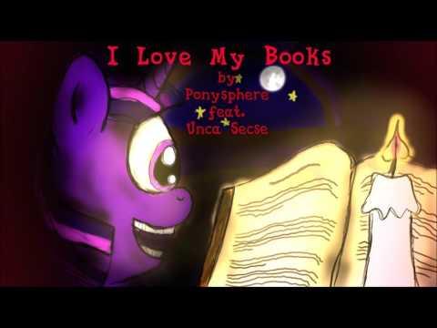 Ponysphere - I Love My Books (Feat. Secret Metal)