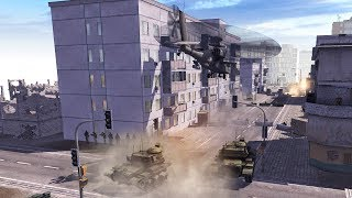 MAJOR CITY INVADED, HELICOPTERS & TANKS IN BATTLE | Call to Arms Gameplay