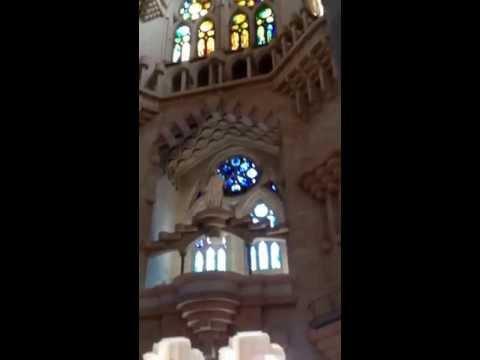 Barcelona - Sagrada Familia & Guadi the architect that designed the cathedral.