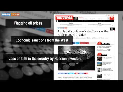 Apple Stops Online Sales To Russia Amid Ruble Woes