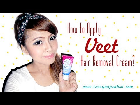 How To Apply Veet Hair Removal Cream