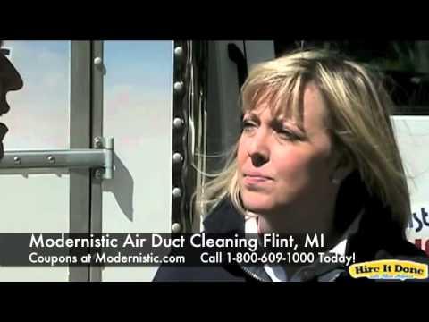 Modernistic Air Duct Flint Michigan