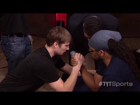 Arm Wrestling!: Jayar v. Andrew
