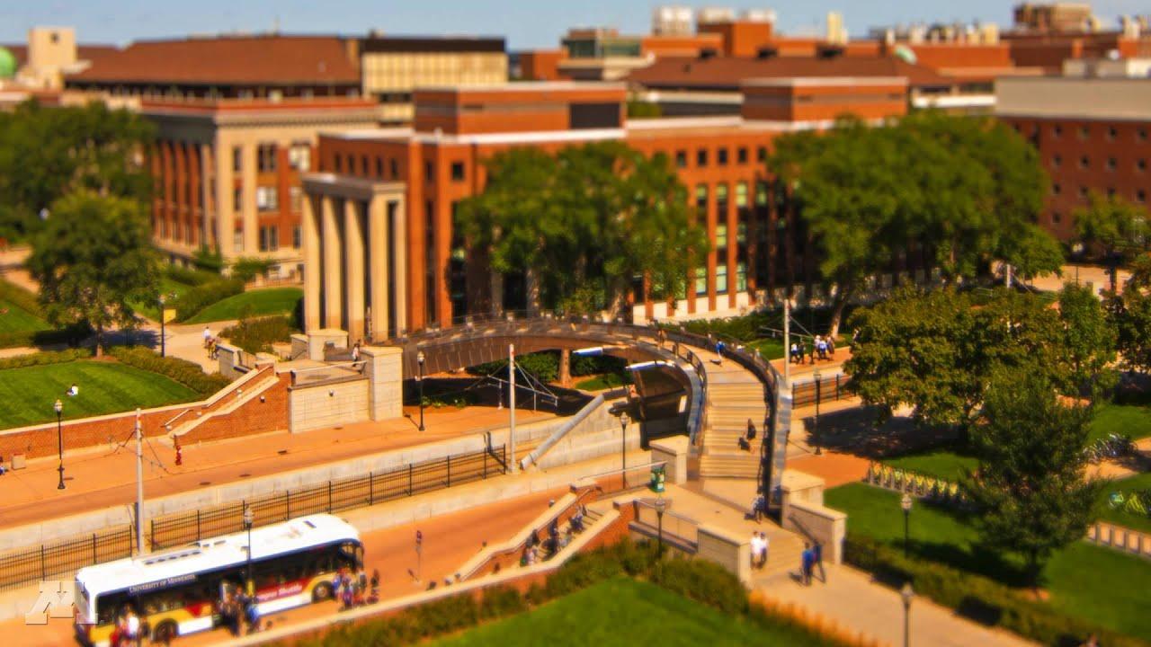 Day in the Life at the University of Minnesota (tilt shift ...