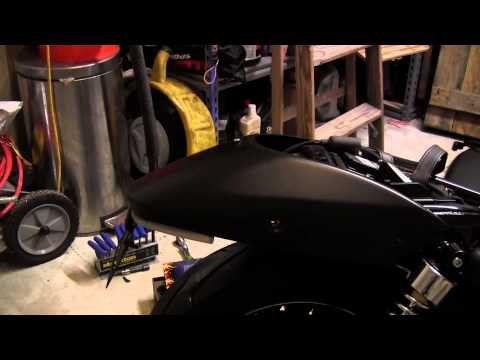 How to Install: Harley Davidson Street 750 Fender Eliminator Kit