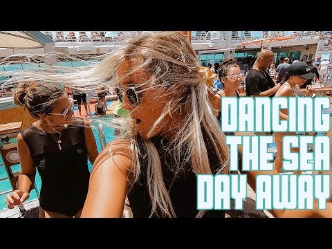 DANCING THE SEA DAY AWAY | EPIC OUTDOOR DANCE PARTY ON CRUISE SHIP IN CARIBBEAN SEA from YouTube · Duration:  12 minutes 45 seconds
