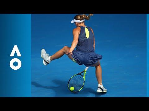 Magdalena Rybarikova v Caroline Wozniacki match highlights (4R) | Australian Open 2018
