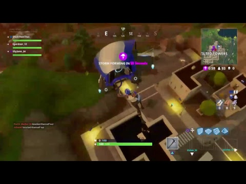 Fortnite game play squad with idylan_34 gaming