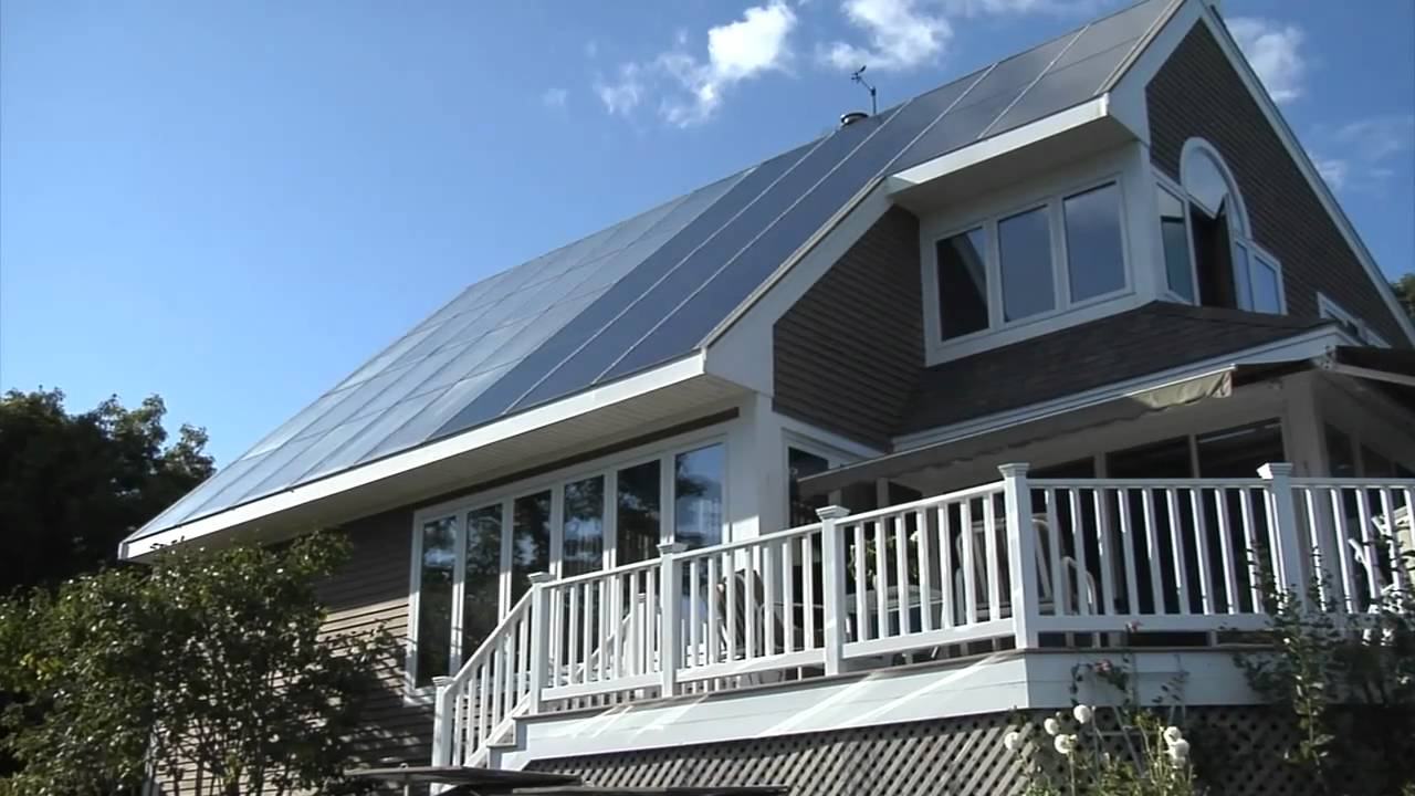 Maine Solar House Youtube