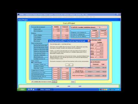 IFPRS+ Structured Series : Project Finance Software Packages - Parent Package