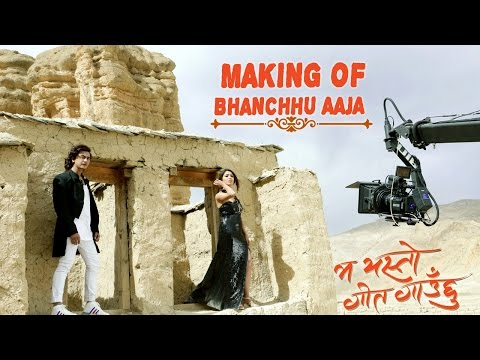Making of Bhanchhu Aaja | MA YESTO GEET GAUCHHU | Ft Pooja Sharma, Paul Shah