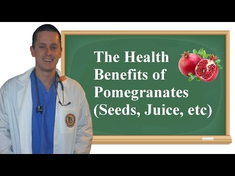The Health Benefits of Pomegranates (Seeds, Juice, etc)