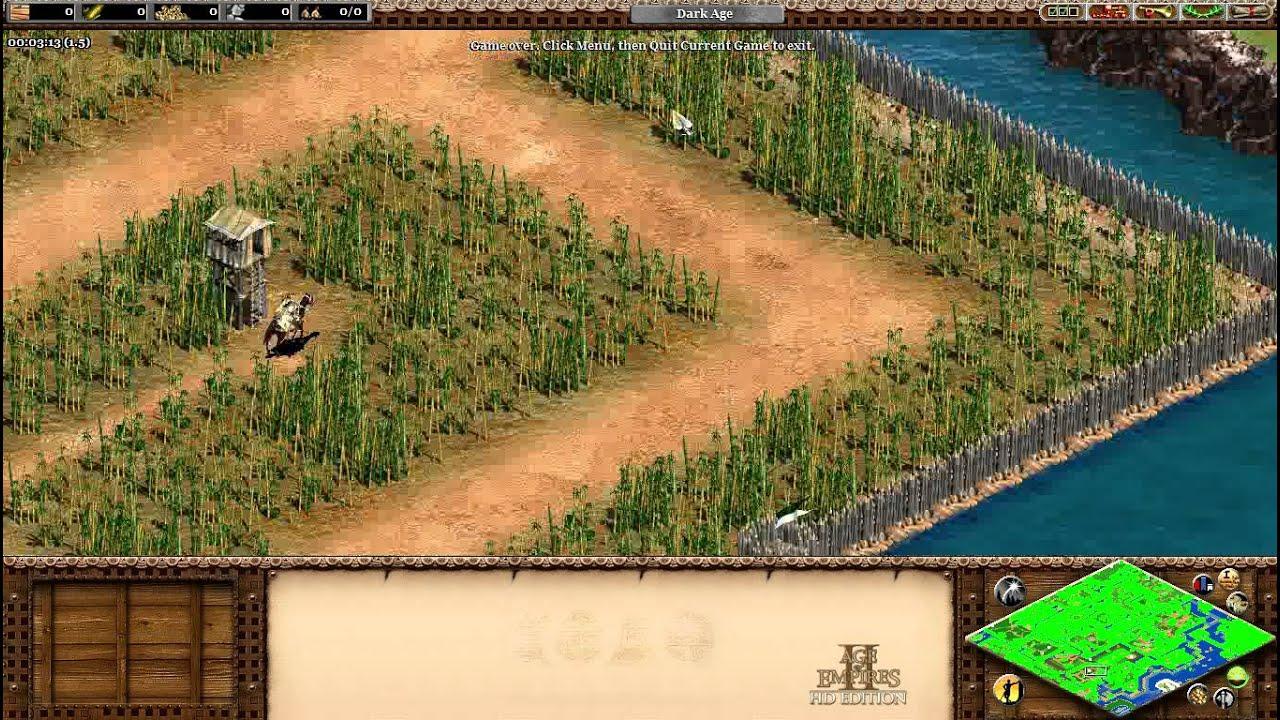 Age of Empires II HD Custom Scenario Zombie Apocalypse U DA