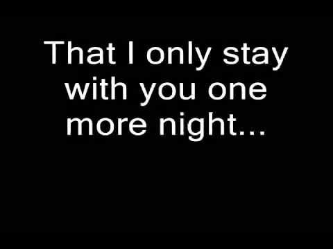 Boyce Avenue  One more night lyrics Maroon 5