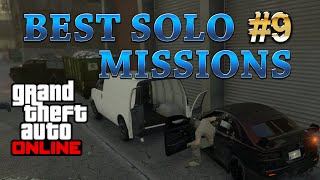 GTA 5 Online Best Solo Missions - Crime Scenester. Making Money $19000 and 4000RP