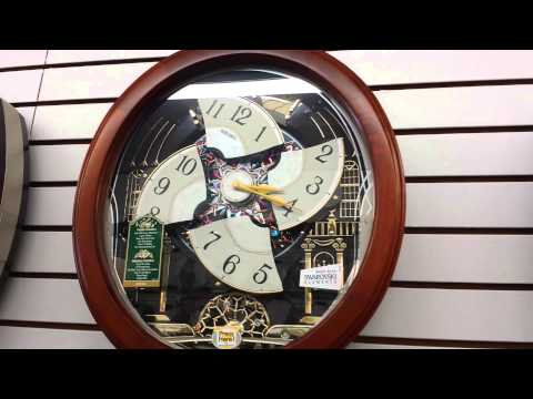 In this video, Paul Tyson Jr. notices a battery is starting to wear out in one of the musical clocks.
