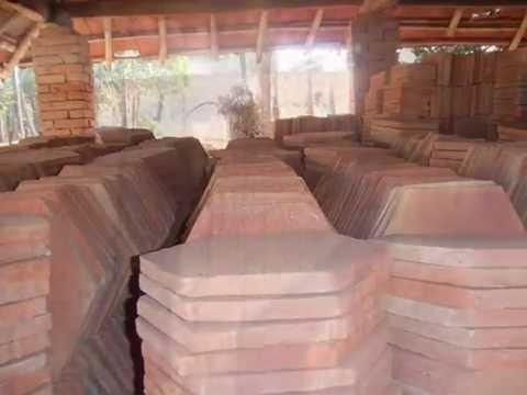 Tile Production At The Terracotta Tile Company Ltd Youtube