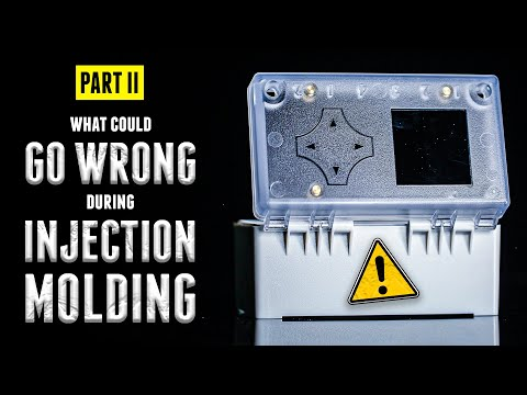 Parting Line, Sink Marks | WHAT COULD GO WRONG: Injection Molding | Some Serious Engineering - Ep2