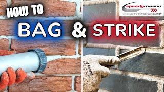 How to Bag and Strike Thin Brick Speedymason