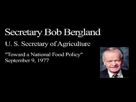 Landon Lecture | Bob Bergland - audio only