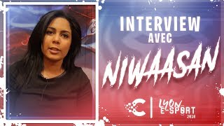 LES 2018 - Interview de Niwaasan