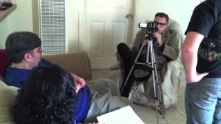 Friday 1/6/12 : Acting in a film with Brendan Mitchell (Around the Town)
