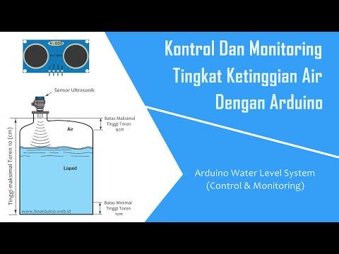 Water Level Monitoring & Controller dengan Arduino