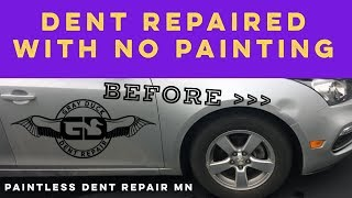 Paintless Dent Repair | MN | Chevy Cruze Fender