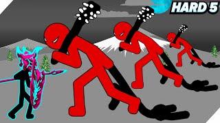 А ты сможешь победить? Гиганские монстры ВЕЛИКАНЫ - Stick war legacy HARD #5 (Безумно)