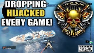 Dropping HIJACKED Every Game! 😈 BO4 Blackout HIJACKED Gameplay - SOLO BLACKOUT WINS