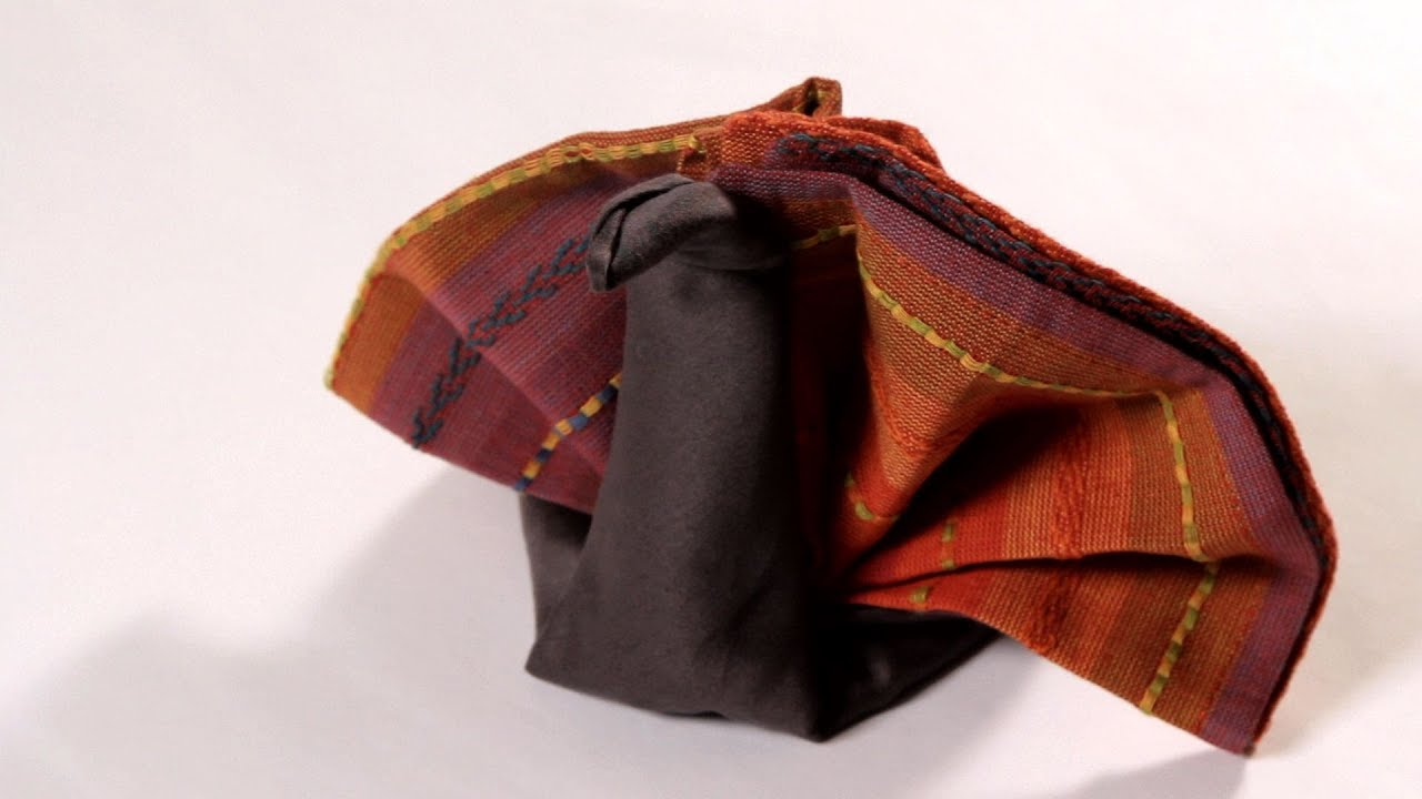how to fold a napkin into a turkey napkin folding youtube