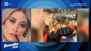 """Elena Santarelli piange: """"Lotto per mio figlio come tante mamme guerriere"""" - Domenica in"""
