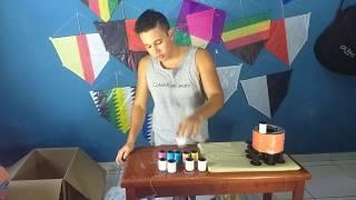 TF PIPAS unboxing - pacote de linha chilena