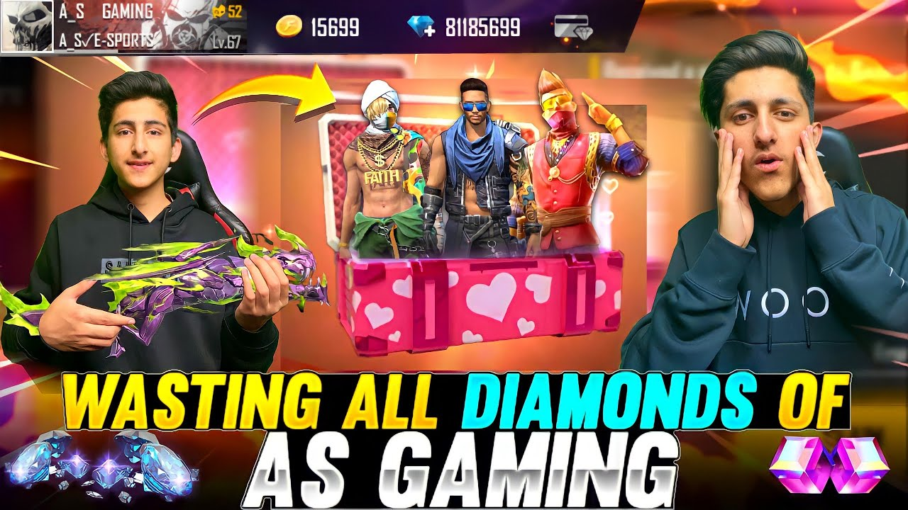 Wasting 12,000 Diamond ? Of As Gaming Opening All New Event ? Op Moment - Garena Free Fire