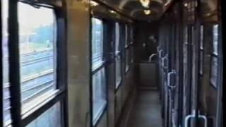 Togtur i kupévogn mod København 1989