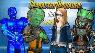 Cyborg Leader Unlocked,Rank 5 Frigga,Rank 5 JARVIS Unlocked / Marvel Avengers Academy