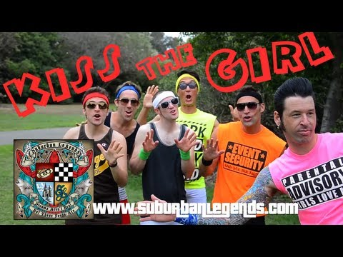 "SUBURBAN LEGENDS - ""Kiss the Girl"" (Official Video) - YouTube"