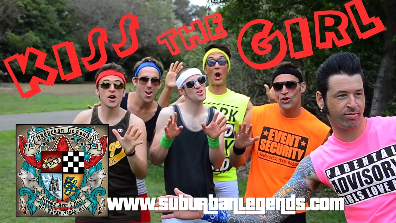 Suburban Legends SUBURBAN LEGENDS quotKiss the Girlquot Official Video YouTube