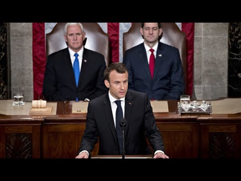 French President Macron urges U.S. not to withdraw from Iran deal