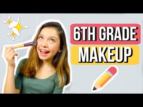 MIDDLE SCHOOL MAKEUP | 6th grade ✏️