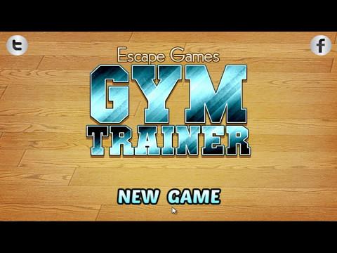 Escape Games Gym Trainer Walkthrough