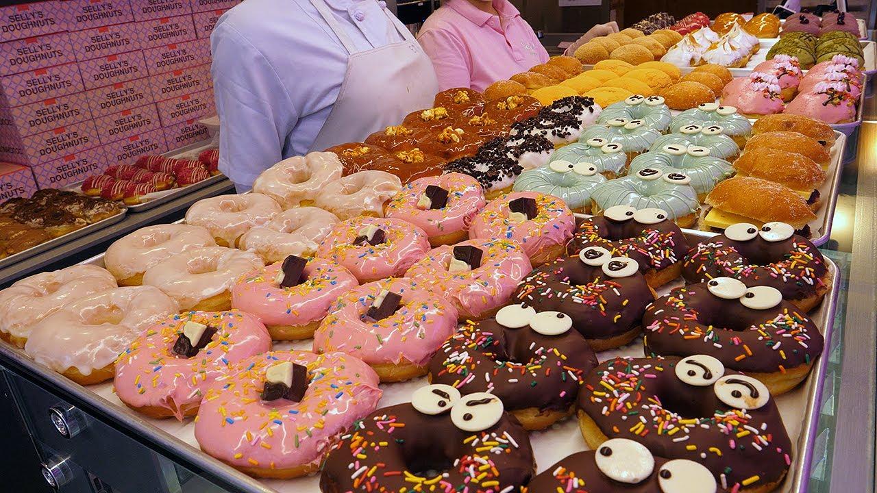 매일 완판! 퀄리티 높은 수제 도넛 - 신촌 / homemade donuts of high quality - korean street food