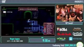 Awesome Games Done Quick 2015 - Part 83 - Rogue Legacy by Tterraj42
